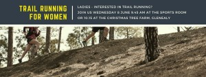 Trail running for women in wicklow The Sports Room