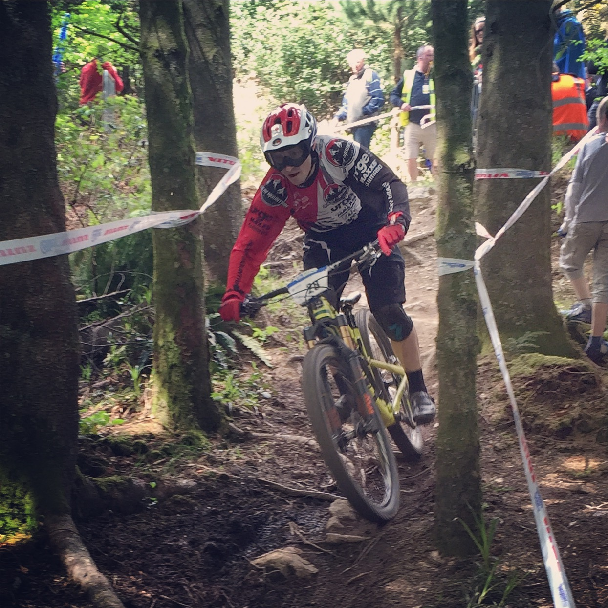 Enduro World Series at Carrick Mountain Glenealy