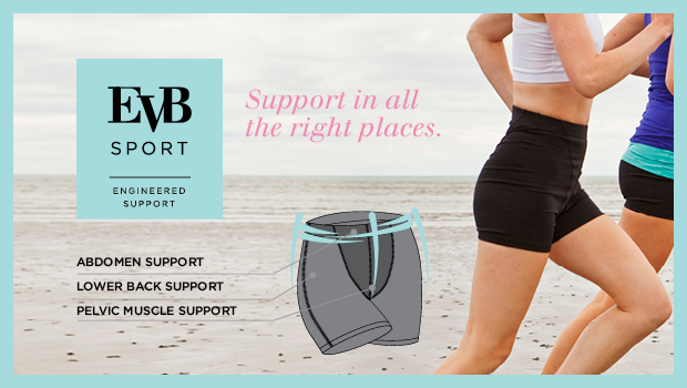 Buy EVB support shorts, capris and leggings at The Sports Room Wicklow