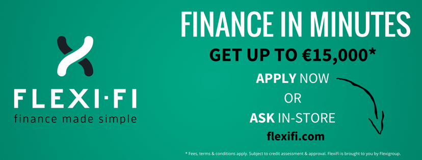 Use Flexi-Fi finance to buy your bike at The Sports Room