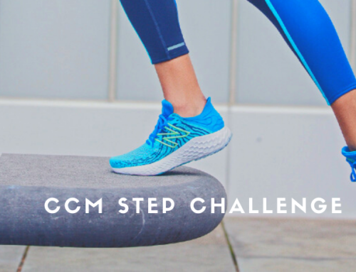 THE SPORTS ROOM SPONSORS CCM STEP CHALLENGE
